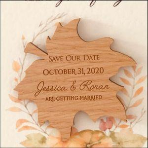 Fridge Magnets Wedding Save The Date Magnets, Wooden Magnet Date, Shape