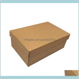 Gift Wrap Event & Party Supplies Festive Home Garden 10Pcs Custom Shoes Cardboard Packaging Mailing Moving Boxes Corrugated Paper Box