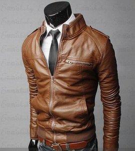 Mens Leather Jackets Men Jacket High Quality Classic Motorcycle Bike Cowboy Male Plus Thick Coats M-3XL Drop Men's