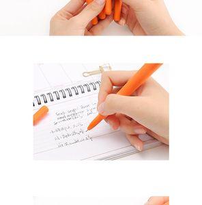 Gel Pens 1PCS Lovely Creative Cartoon Carrot For Kids Novelty Gift Korean Stationery Office School Supplies