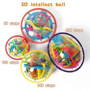 3D Büyülü Akıl Labirent Ball 99/100/158 / 299Steps, IQ Denge Perplexus Manyetik Top Mermer Bulmaca Oyunu Çocuk ve Yetişkin Oyuncaklar için 201218