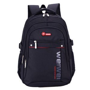 Backpack Fashion Wear-resistant Men's Leisure Ridge Protection Outdoor Student Bag Large Capacity Multifunctional Design