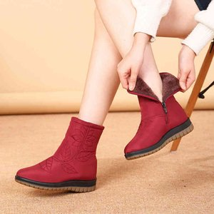 boot Women's winter plus high-quality snow ankle boots for dwaterproof woman water shoes 357 L3HH