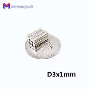 imanes sale 80 degree Super Strong Fridge Magnet 500pcs D3x1mm 3x1 mm N35 permanant Rare Earth magnets 3mm x 1mm Axial magnetized E46F