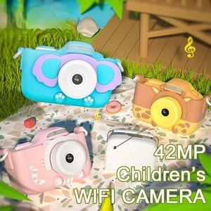 Children's Camera WIFI 42MP Digital 4K 3'' Touch Screen Toys For Girls Children Gift Kids Education Toy Cameras