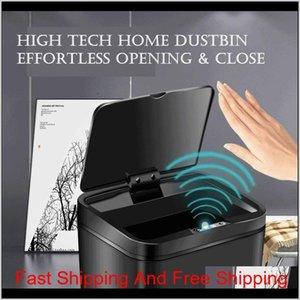 Intelligent 12L High Capacity Dustbin Matic Rapid Sensor Trash Can Waste Bins Home Kitchen Supplies Fgrh0 Q9Luy