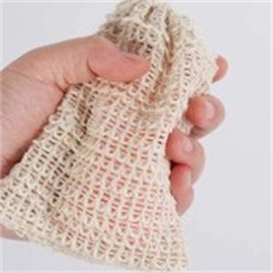 Natural Exfoliating Mesh Soap Saver Sisal Soap Saver Bag Pouch Holder For Shower Bath Foaming And Drying DA647 552 R2