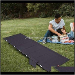 Cot compact pour sac à dos en plein air Camping Tente pliante ultralight UVJNI MZ80V