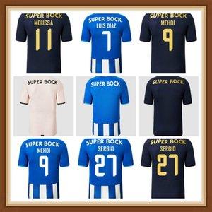 21 22 PEPE Jersey Camisetas de Fútbol Aboubakar Marega Nakajima Marcano Homens Kit Kids