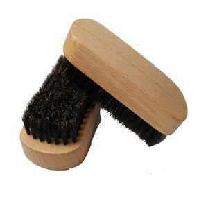 10.5x5cm Wood Bristles Beard Brush aftershave Mustache Comb Men wooden brushes