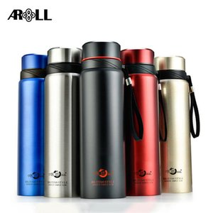 Stainless Steel Thermos Bottle 1000ml Business Vacuum Flask Travel Portable Thermos Insulated Bottles 700 800 1000ml