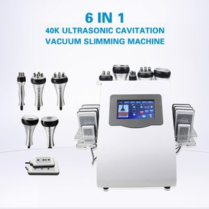 2021 Ultrasonic Vacuum Cavitation Fat Loss Whole Body Slimming Lipo laser RF Skin Tightening Beauty Salon Equipment For Sale