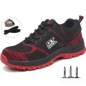 Training shoes men Safety Work Laarzen Plus Size Unisex Outdoor Steel Nose Point Protection Shoes Men 0902