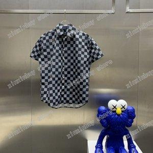 Os homens 21s são impressos camiseta White preto desenhador de lattice paris watercolor letra roupas de manga curta mens camisa tag