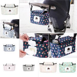 Baby Stroller Organizer Bag Mummy Diaper Bag Hook Baby Carriage Waterproof Large Capacity Stroller Accessories Travel Nappy 1105 Y2
