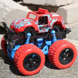 Children's Car Model Playing Four-Wheel Drive Inertial Anti-Fall Stunt Off-road Vehicle Toy Gift