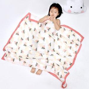 مناشف حمام الرضع مطبوعة الشاش أربعة طبقة الخيزران القطن الشاش منشفة ملفوفة بواسطة ins baby blanket 27 تصاميم 813 x2