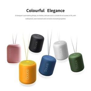 Portable Speakers True Wireless Speaker With Super-bass Stereo Waterproof Music Player Desktop
