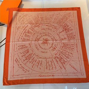 High end twill silk scarves for women in spring and Autumn 46PH