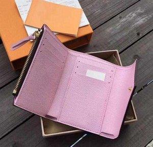 Designer luxury bag AV8K Luxurys Pallas Wallet Holder Fashion Purses VICTORINE Designers Bag Card Cla Women's leather handbag