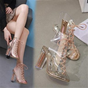 Fish Mouth Woman Pumps Shoes High Heels T-stage Sexy Dancing Party Wedding Ladies Zapatos De Mujer Sapato Chaussures F Sandals