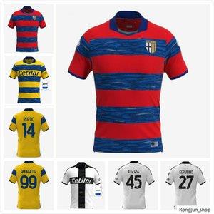 21 22 Parma Soccer Jerseys Cornelius Hernani JR Gervinho 2021 2022 Karamoh Maglia de Calcio Inglés Camisa de fútbol Grassi Adorante Adorante