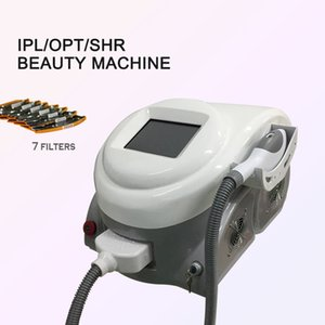 portable 7 wavelength functions ipl shr diode laser painless hair removal skin rejuvenation imported xenon lamp
