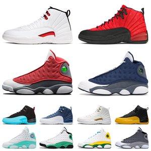 Air Jordan Retro 12 Twist Jordans Jumpman 13 Flint Aj Hommes Femmes Des Chaussures De Basketball Concord 12s XII Stone Blue University Gold Bulls Bred 13s XIII Lakers  Baskets