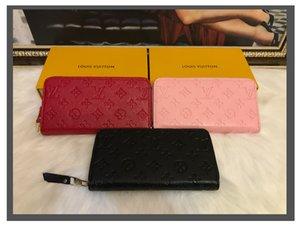 lvlouis8vitton Top Quality Wallets For Women Genuine Leather Bags Zipper Long Wallet Designer Handbags Zippy Purse Luxurys Bag Tote Have Box