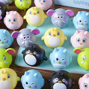 Cartoon Cute Animals Pull Back Car Toy Crash Resistant Funny Elephant Parrot Chick Owl Diecast Model Vehicle for Baby Children Dog Kids Hot Classic Gifts