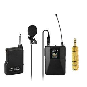 Mikrofon Profesyonel UHF Kablosuz Sistem Alıcısı + Verici Kamera Kaydedici Mikrofonlar için
