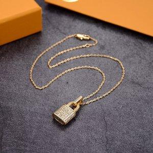 Luxus Anhänger Halsketten Mode Für Mann Frau Hochwertige Frauen Party Hochzeit Liebhaber Geschenk Hip Hop Schmuck
