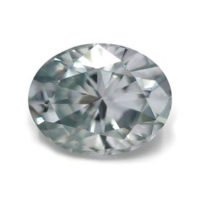 Light Blue Color Oval Cut Moissanite Loose Diamond with Box and Certification for Rings VVS1 Gemstones Excellent Pass MoissanTester