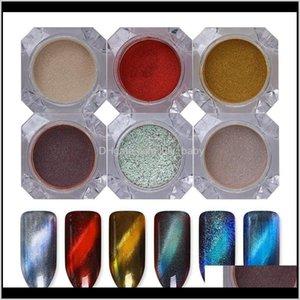 Born Pretty 6 Boxes 3D Cat Eye Magic Mirror Powder Uv Gel Polish Nail Glitter Magnetic Pigment Dust 6Sjlk A3Ooy
