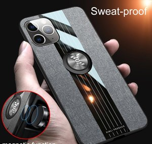 Cell Cases For 11 Pro 7 8 Plus Xr Xs Max X Se Leather Phone Cover Car Magnetic Holder Ring Case Qylrq Fr3Xo