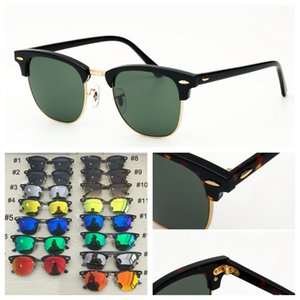 fashion vintage sunglasses womens mens sunglass driving sun glasses eyeware uv protection glass lenses men women with free leather case, clean cloth