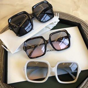 Vintage Boy Kare Güneş Gözlüğü Lüks Marka Büyük Çerçeve Kadın Güneş Siyah Moda Degrade Kadın Gözlük óculos