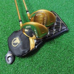 Clubs de golf 4 étoiles HONMA S-07 Fairway Woods # 3 ou # 5 Arbre dédié au graphite R / S / SR avec couvercle de la tête