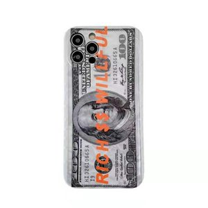 Money Designer Phone cases For iPhone 12 11 Pro XS Max XR X 6 7 8 Plus $100 get rich
