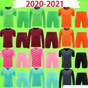Adult kit 20 21 AC ERIKSEN HANDANOVIC 2021 Milan goalkeeper Soccer Jerseys A. DONNARUMM LUKAKU Football Shirt Uniforms IBRAHIMOVIC mens set Uniforms
