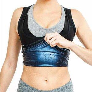 Amazon Mens e Womens Corsetto Sweat Sweat Suit Bruciore Bruciore e pancia Fitness Fitness Violentemente Sweat Gilet Running Sports Yoga Violentl