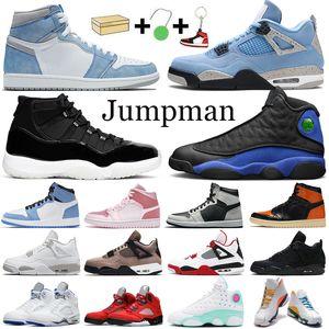 aj1 retro 1s 11s Jumpman Männer Basketballschuhe 1s 4s Fire Red 5s 11s Concord 12s 13s Outdoor-Trainer Sportschuhe mit Box