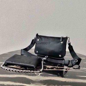 Fashion messenger bag composite tote twin set canvas satchel lady handbag for men presbyopic mini package cross body women