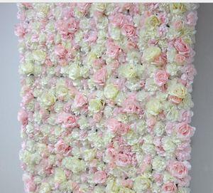 2021 4FT * 8FT Blush Розовая свадебная розовая розовая розовая розовая цветочная настенная натуральный фон искусственный цветочный стол Центральная композиция декоративная