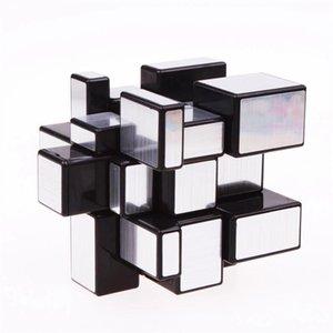 Magic Mirror Cubes Rompecabezas recubiertas de fundición Educación de CUBE de velocidad profesional para niños CCF6101