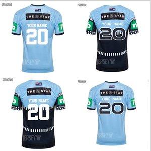 2021 2022 أستراليا البلوز الرجبي جيرسي الرجال الصفحة الرئيسية صحيح الأزرق كابتنز NSW حالة الأصل