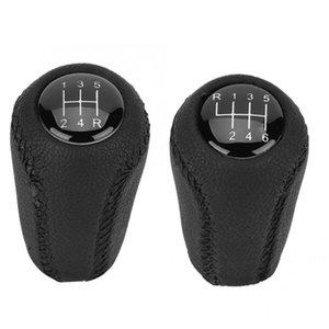 Shift Knob Leather 5 6 Speed Gear For 3 BK BL 5 CR CW 6 II GH CX-7 ER MX-5 NC III 23 MT Shifter Lever Arm Headball