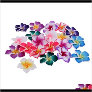 20 Pieces Mixed Color Flower Polymer Clay Spacer For Findings Jewelry Making 3512Mm Ohdez 7Lekj