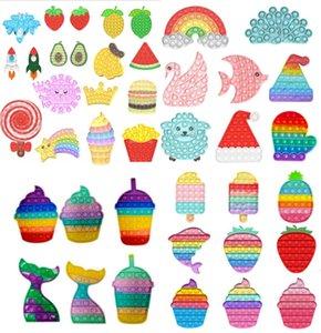 Fidget oyuncaklar push kabarcık duyu otizm özel ihtiyaçları stres rahatlatıcı çocuk çocuklar için sık sık sıkmak duyusal oyuncak DHL kargo visshow FY4381
