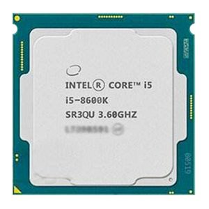 Coer I5-8600K i5 8600k CPU Processor i5 8600 K 6 Core 6 thread 3.6G CPU 95W LGA 1151 3.6 GHz scrattered pieces
